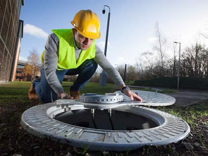 Vodafone using manhole covers to 'build 5G cities'