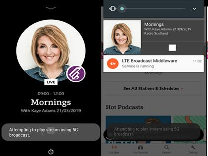 BBC Extends 5G Broadcast Radio Trial