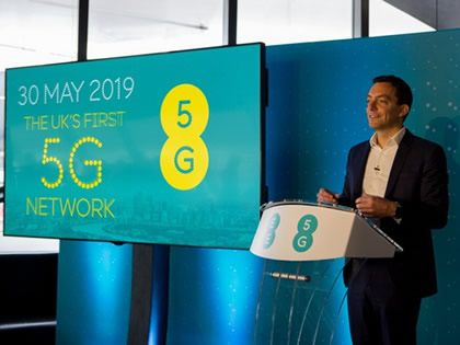 EE 5G coming May 30 making it UK's first, 5 weeks ahead of Vodafone